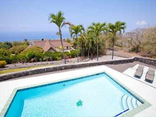Ocean views from almost every room and solar heated salt water pool!, Kailua-Kona