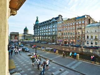 Centre. Hermitage 5 min. 3 bedroom. View the canal, San Petersburgo
