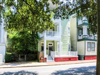 Savannah condo on park with two balconies and three bedrooms