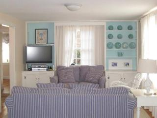 Open Living Area with Flat Screen and WIFI - 18 Bonnie Lane South Harwich Cape Cod New England Vacation Rentals