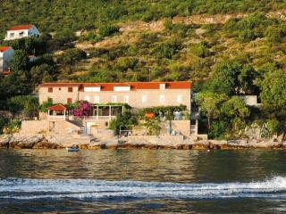 Studio with sea view , terrace and private beach, Dubrovnik