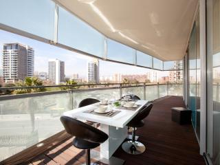 Spectacular flat with sea view, Barcelona