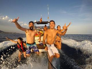 Boat to sail in Castelldefels with kite surf, Sitges