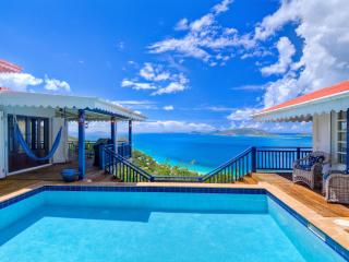Pelican Peak Villa, Panoramic Island Views, Only minutes to the best Beaches., Tortola
