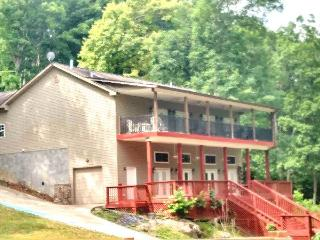 Bridgeview has a scenic view of Norris Lake and a private boat dock., Maynardville