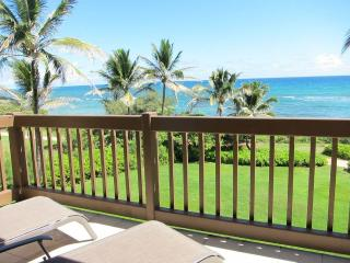 Kaha Lani Resort #326-OCEANFRONT, Top Unit!, Lihue
