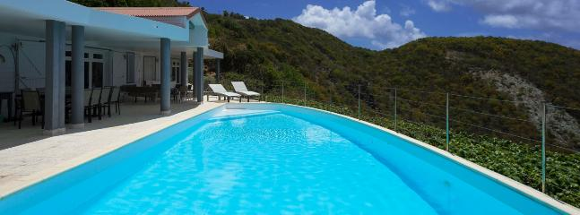 Villa Gouverneur View SPECIAL OFFER: St. Barths Villa 209 The View Of The Bay Of Gouverneur And The Ocean Is Magnificent.