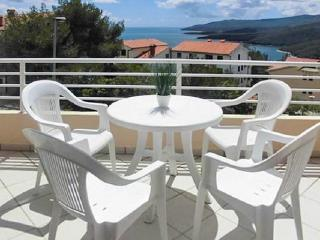 Modern apartment in the charming resort town of Rabac, Istria, with balcony overlooking the Adriatic