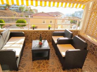 Stylish apartment with ocean view in Costa Adeje, Tenerife
