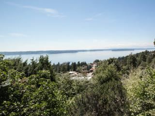 West Seattle Private, Quiet Home w/Dazzling View