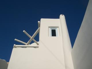 Newly built traditional Cave House, Fira