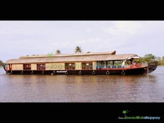 Beautiful Alleppey Houseboats, Alappuzha