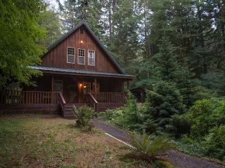 Henry Creek Cabin- 15% OFF Through NOV 1st- Secluded- hot tub- WiFi, Rhododendron