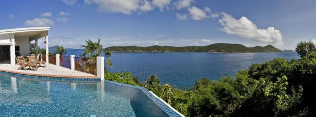 St. Thomas Villa 27 Built Into A Hillside 127 Steps Above The Sea.