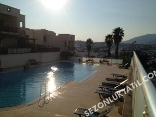 Gumbet Bodrum in a site with swimming pool, Bodrum City
