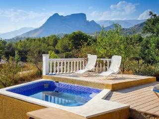 Holiday bungalow for rent in Finestrat  Casita sol