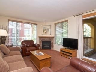 Village Beauty with Ambience! Spacious & Well-Appointed 2 bed, 2 bath condo in Bear Lodge, Whistler