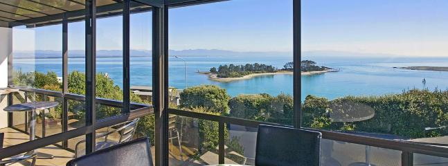 Island Vista - Nelson Waterfront Holiday Home with Sea Views!