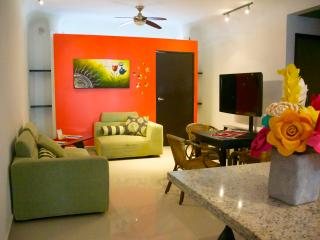 Apartment at only 1 block to the beach, Playa del Carmen