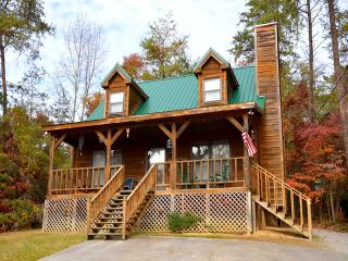 Hartman Hideaway is located on Easy Street in Pigeon Forge