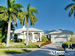 Waterfront house on key lot with heated pool, hot tub and unmatched views, Marco Island