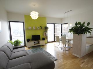 Modern Apt with Garage & View, Praag