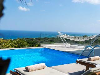 Infinity Pool Villa Vista,Sea Views 1km From Beach, Atsipopoulo