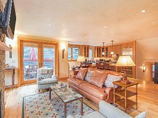 This spacious, family-friendly vacation rental condo in downtown Telluride is an ideal place to stay during winter or summer.