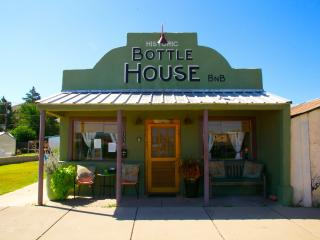 The Historic Bottle House dtown Alpine, by Marfa