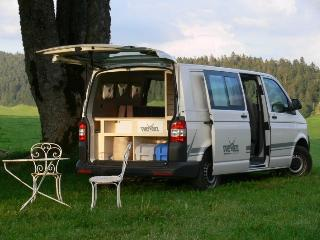 CamperVan Hire - VW Transporter Esquisse in Paris, Nantes