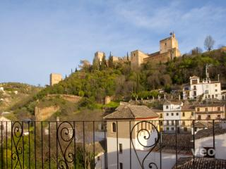 Carnero | Balcony with views of the Alhambra, Granada
