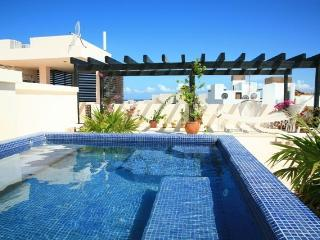 Luxury Penthouse with Rooftop Oceanviews, Playa del Carmen