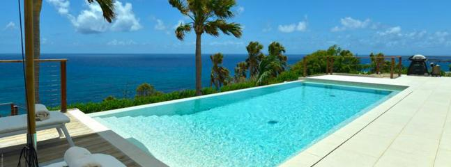 St. Barths Villa 261 You Will Enjoy Swimming In The Large Pool While Watching The Beautiful View Of The Ocean., Toiny