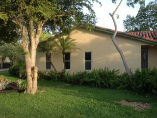 South Miami House with yard