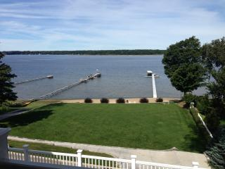 Lakefront Home with Warm Water and Private Dock, Whitehall