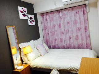 Nice room 2 Stations from Namba, Free pocket Wifi, Osaka