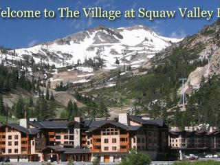 Village at Squaw Valley Mountainview Ski in, Ski o, Olympic Valley