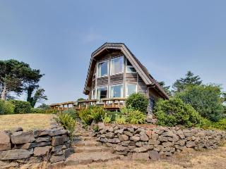 Enjoy ocean views from this dog-friendly home for 9., Cannon Beach