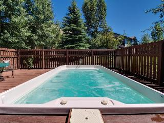 Mountain retreat w/ hot tub - close slopes & bus stop!, Steamboat Springs