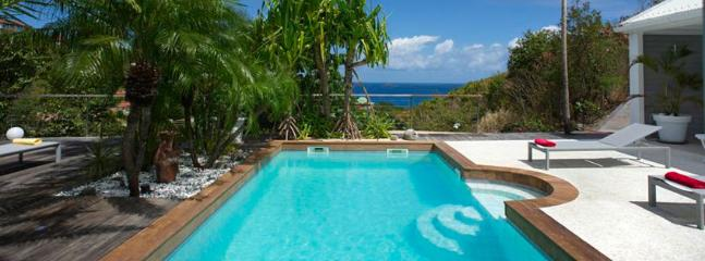 SPECIAL OFFER: St. Barths Villa 263 The Villa Is Open Onto A Large Terrace And A Pool Overlooking The Ocean., St. Barthelemy