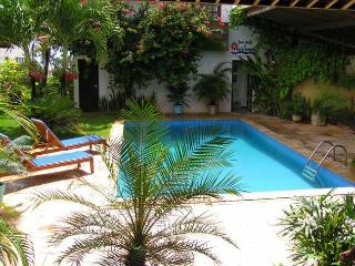 Beach Front Vacation Villa with maid services., Genipabu