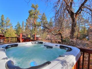 Oak Tree Retreat: Near Village! Spa! WiFi! BBQ!, Big Bear Lake