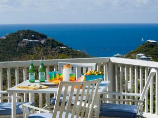 Great and affordable ocean views at Villa Catalina, St. John