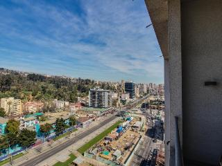 18th-floor condo in the heart of the city with pool and gym, Vina del Mar