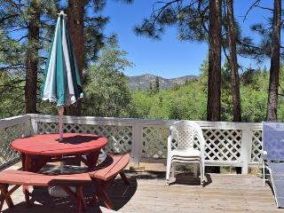 Woods View: Forest Views! Fireplace! Air Hockey!, Big Bear Lake