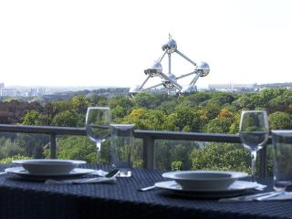 Apartment with impressive View on Atomium, Brussels