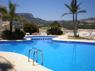 wonderful apartment with stunning views, Calpe