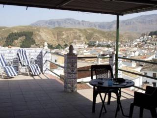 Casa Mariposa house with view over Antequera