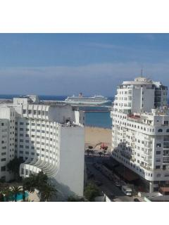 Beautiful large sea view apartment, Tangier