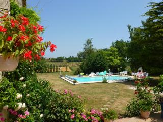 Beautiful Converted Barn, Stunning Pool and Views, Taillecavat